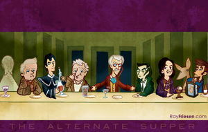 Doctor Who THE ALTERNATE SUPPER by raisegrate