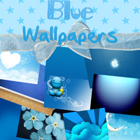 Blue Wallpapers Pack by TutosGaGa