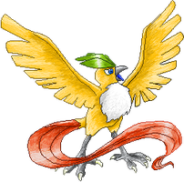 Wheat Articuno by RougeSulfura
