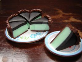 Chocolate Mint Pie by MaSucree