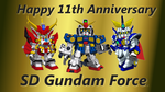 Attention All SD Gundam Force Fans!! + Video by blazeraptor