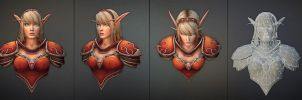 Blood Elf by JohnMcFlurry