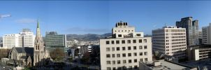 Christchurch Center panorama by RealmKnight