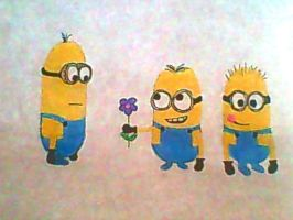 Minions from Despicable Me by PJ987
