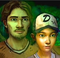 TWD - Luke and Clem by Tazzle28b