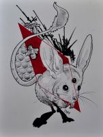 Jerboa Confusion by joshgraphic