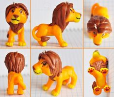 clay adult Simba by cihutka123