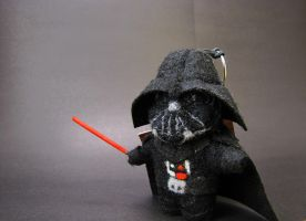 Felting Darth Vader - Felted Star Wars by LynFamily