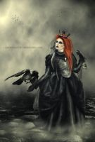 Raven Queen by modern-myth