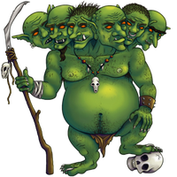 Six Headed Goblin by nEVEr-mor
