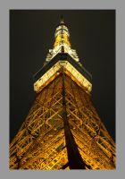 Tokyo Tower at Night Pt 2 by c-lue