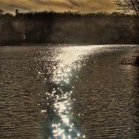 Sunlight on the Water by wdlougee