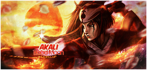 Blood Moon Akali by townfries