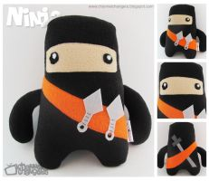 Orange Ninja by ChannelChangers