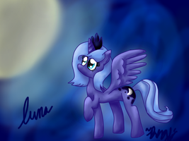 Luna Background by RainbowPieMLPFiM