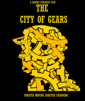 The City of Gears Poster by Party9999999