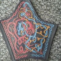 Dueling Dragon Bracer by Lord-Entpooh