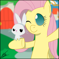 Selfphoto - Fluttershy by thedeseasedcow