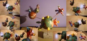 Super Mario Galaxy Diorama by Jelle-C