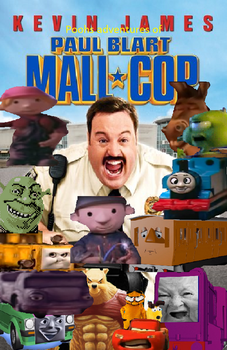 (parody)poohs adventures of Paul Blart Mall Cop by islandofsodorfilms