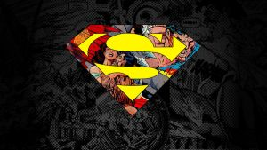 Death of Superman Wallpaper by kalnobe