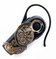 Steampunk Bluetooth Headset 2 by Create-A-Pendant