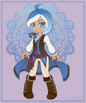 Commission: Nyx of the Water by padfootlet