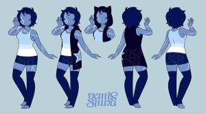 CMM - Sodalite Outfit by Geminine-nyan