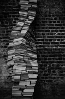 The weight of knowledge by Oupsar