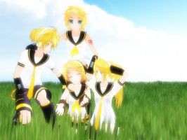 Kagamine Overload by rinXlen79