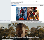 Falcon reacts to Antman surpassing Captain America by eagc7