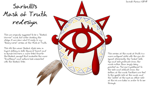 Mask of Truth Redesign by Sarinilli