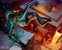 Heros of Metro City: Roof Top Leaping by lorraine-schleter