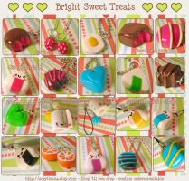 Bright Sweet Treats by tedsie