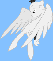 Angry Birds MLP - White Bird flying no tears ver. by worldofcaitlyn