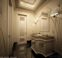 3D Powder Room01 by iwan-artwork