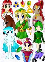 Ocarina of Time by brigette