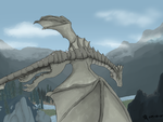 The dragonborn comes by BlackBloodX