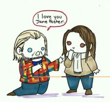 I love you Jane Foster by KBDeliciousTriscuits