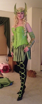 NYCC outfit - Amora - WIP, 95% done! by killingarkady