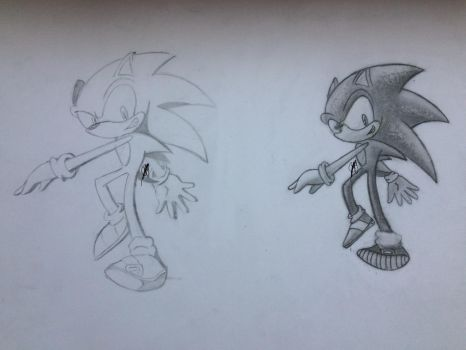 Sonic Channel Style VS. My Own by CMBSonic