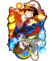 Fire Ice by SilverKRAZE