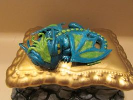 Dragon Jewlery Box Close up 1 by QueenAliceOfAwesome