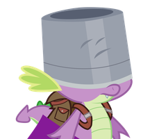 Buckethead Spike by liamwhite1