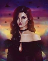 Yennefer | The Witcher 3 by pinkastr