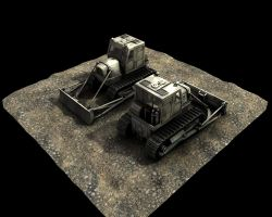 Bulldozer 'Clump' by eRe4s3r