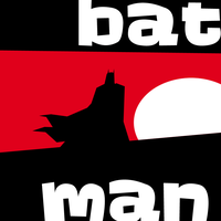 batman saul bass by hugeackman