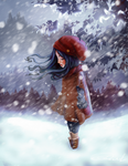 Winter Girl by ChiCaGos