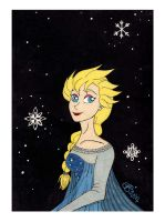 The Snow Queen Named Elsa by RainbowFay