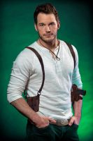 Uncharted Fan Cast: Chris Pratt as Nathan Drake by ImWithStoopid13